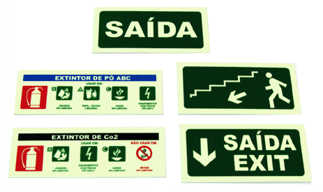 Sinalética Industrial